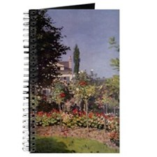 Monet Flowering Garden Journal