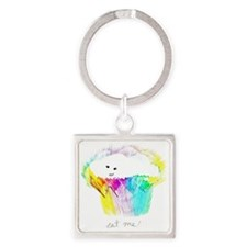Sweet Nothing Square Keychain
