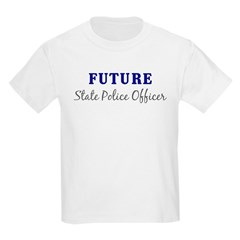 Future State Police Officer Kids T-Shirt