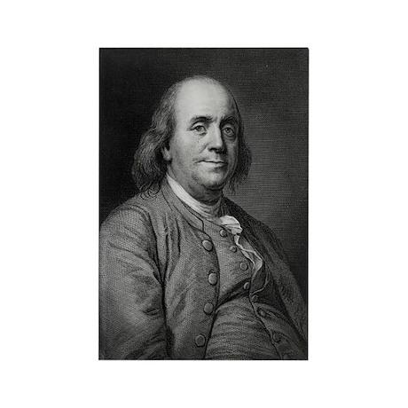 Franklin-Benjamin-LOC Magnets