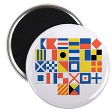 Nautical Flags Magnet