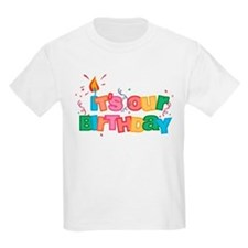 It's Our Birthday Letters T-Shirt