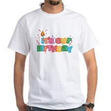 It's Our Birthday Letters Shirt
