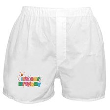 It's Our Birthday Letters Boxer Shorts
