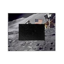 Apollo moon mission Picture Frame