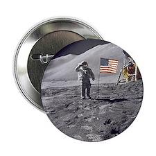 """Apollo moon mission 2.25"""" Button"""