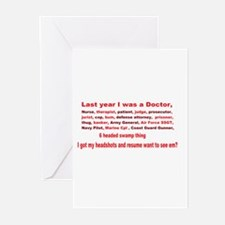 construction Greeting Cards (Pk of 20)