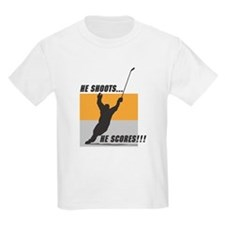Hockey Player Kids T-Shirt