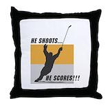 Hockey Cotton Pillows