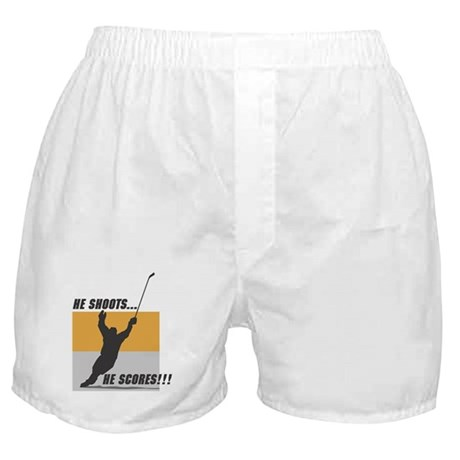 Hockey Player Boxer Shorts