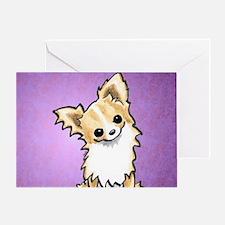 Chi Listen Up Plum Greeting Card