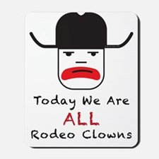 Rodeo Clown Mousepad