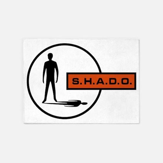 S.H.A.D.O. 5'x7'Area Rug