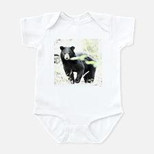 Black Bear Infant Bodysuit