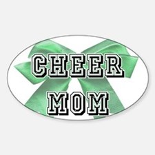 Green Cheer Mom Decal