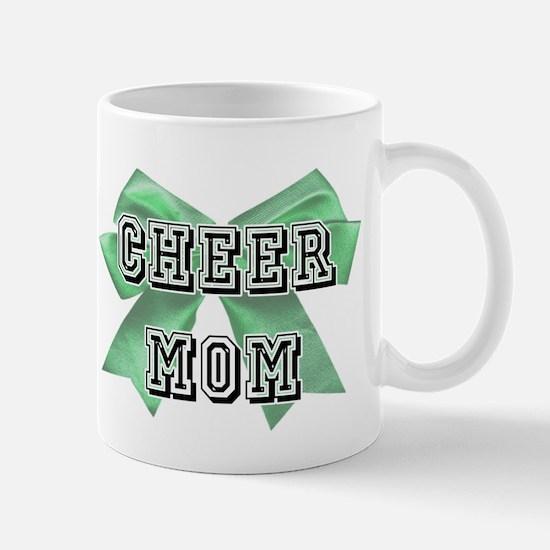 Green Cheer Mom Mug