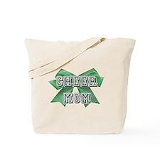 Green Cheer Mom Tote Bag