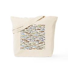 School of Sharks 2 Tote Bag