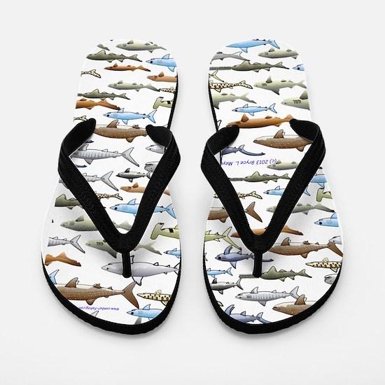 School of Sharks 2 Flip Flops