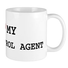 I Love BORDER PATROL AGENT Coffee Mug
