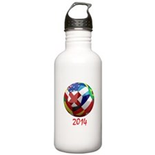 2014 Soccerball.png Water Bottle