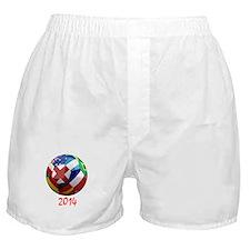2014 Soccerball.png Boxer Shorts