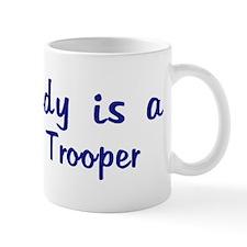 Highway Trooper - My Daddy Mug