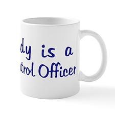 Highway Patrol Officer - My D Mug