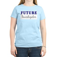 Future Investigator Women's Pink T-Shirt