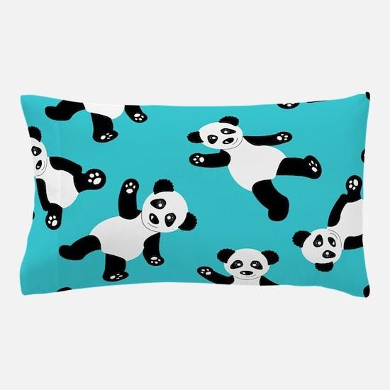 Cute Panda bear Pillow Case