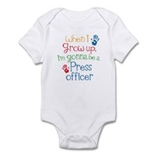 Future Press Officer Infant Bodysuit