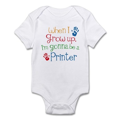 Future Printer Infant Bodysuit