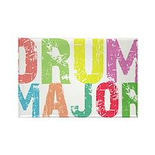 Drum Majors Rectangle Magnet