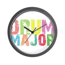 Drum Majors Wall Clock