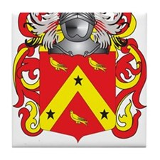 Finney Coat of Arms Tile Coaster