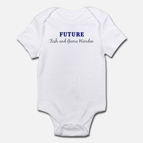 Future Fish and Game Warden Infant Bodysuit
