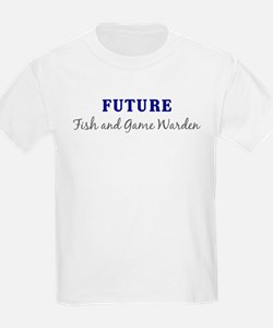 Future Fish and Game Warden Kids T-Shirt