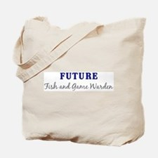 Future Fish and Game Warden Tote Bag