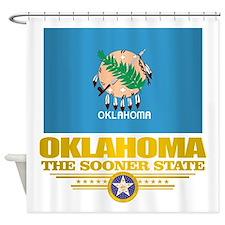 Oklahoma Flag Shower Curtain
