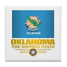 Oklahoma Flag Tile Coaster