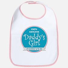 100% Genuine Daddy's Girl Forever Bib