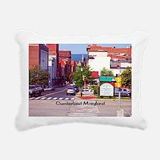Cumberland Maryland Rectangular Canvas Pillow