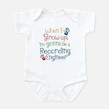 Future Recording engineer Infant Bodysuit