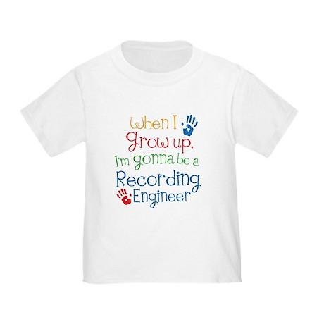 Future Recording engineer Toddler T-Shirt