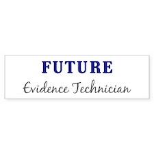 Future Evidence Technician Bumper Bumper Sticker