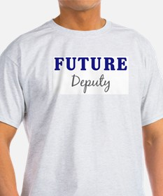 Future Deputy Ash Grey T-Shirt