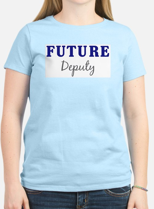 Future Deputy Women's Pink T-Shirt