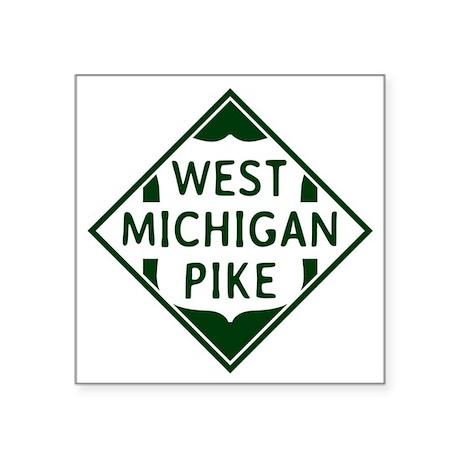 3 x 3 Vintage West Michigan Pike Herald Sticker