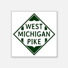 3 x 3 Vintage West Michigan Pike Herald Sticker
