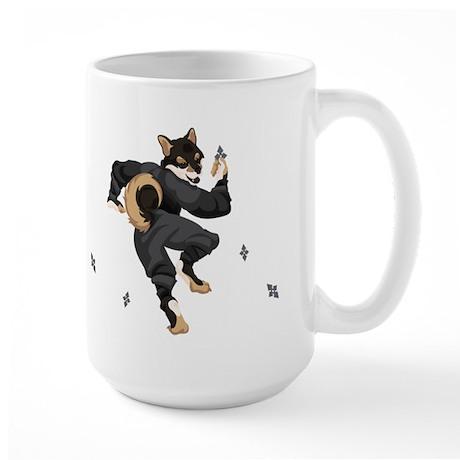 Shiba Inu Ninja - Black and Tan Mug